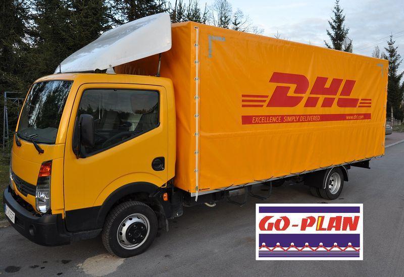 Samochód dostawczy DHL